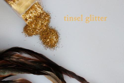 tinsel glitter